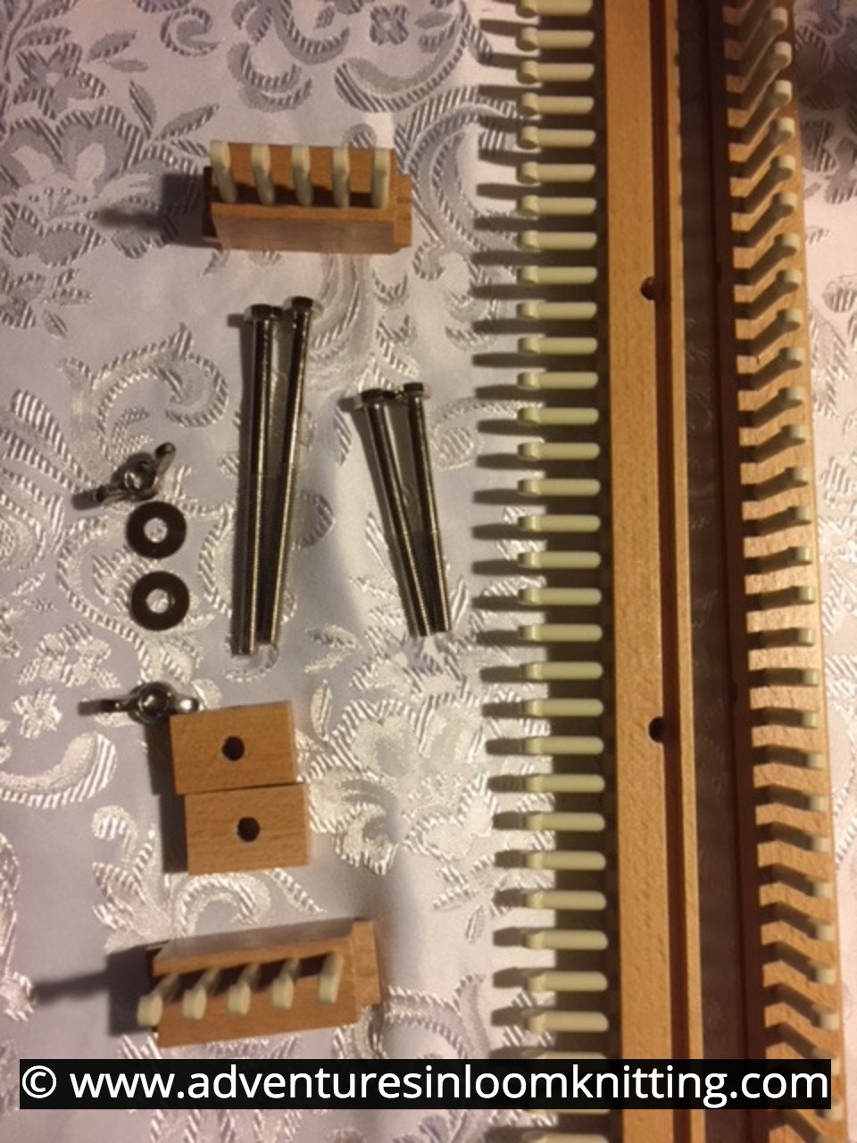 Loom Knitting With the All-N-One Loom  AKB