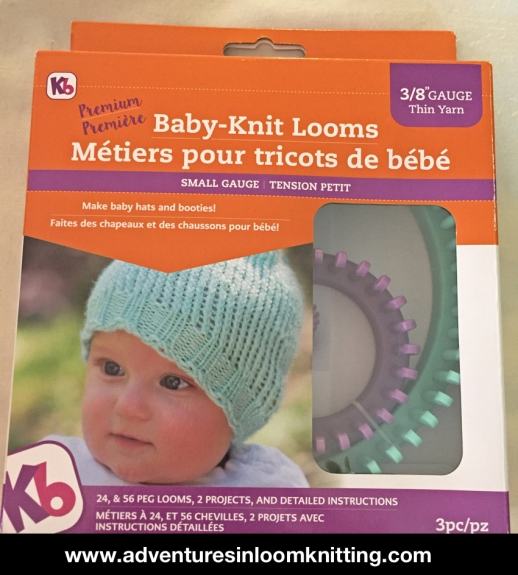 e4037b88af4 ... baby hats (or how many pegs to use on a small-gauge loom like the  All-in-One)