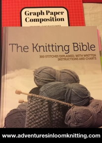 knitting_bible_and_grid_paper